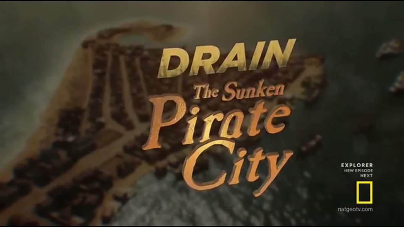Drain the Sunken Pirate City
